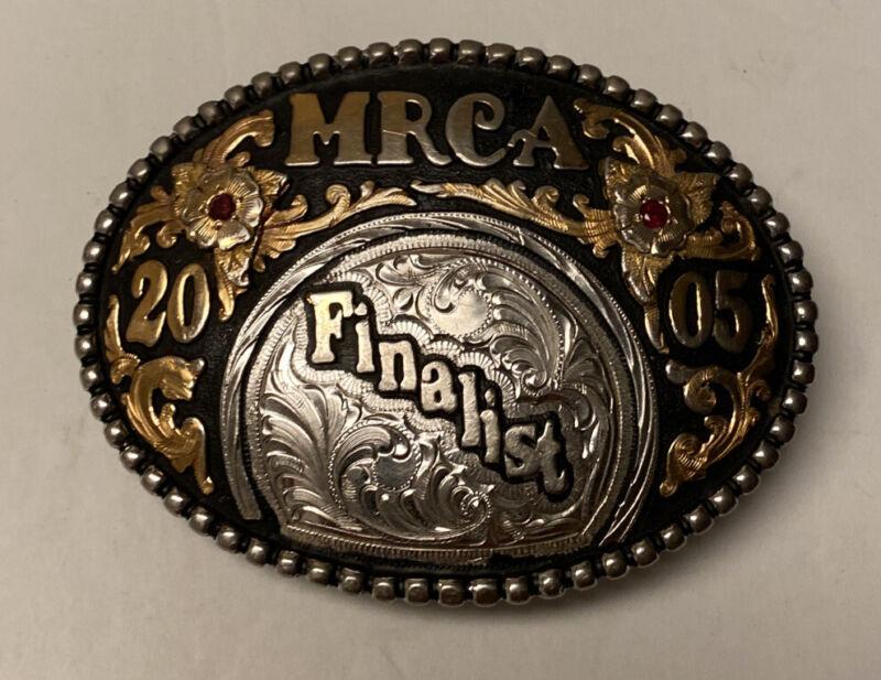 MRCA Finalist Rodeo Belt Buckle 2005