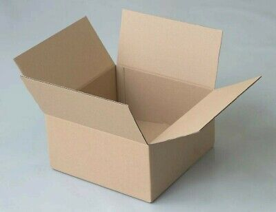 CARDBOARD BOXES  POSTAL PACKING MAILING CARTONS PACK OF 10
