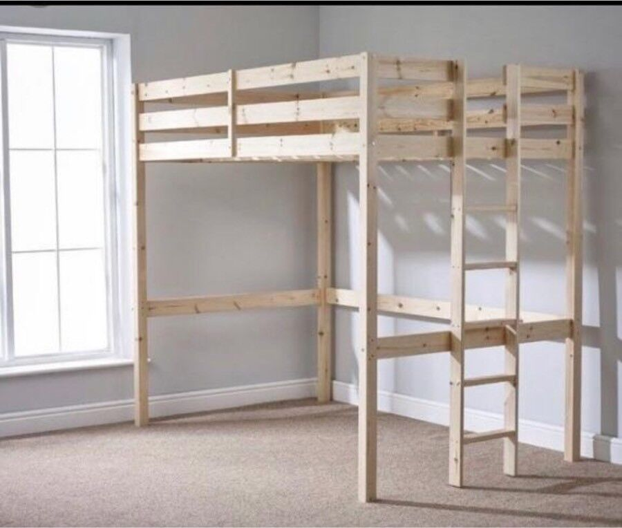 Double Bed High Sleeper Adult Size Bunk Bed In Oxford Oxfordshire