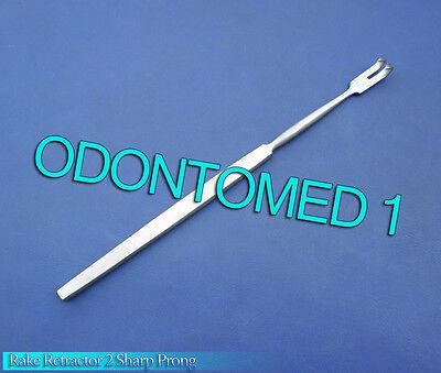 Rake Retractor 2 Sharp Prong Surgical Instruments