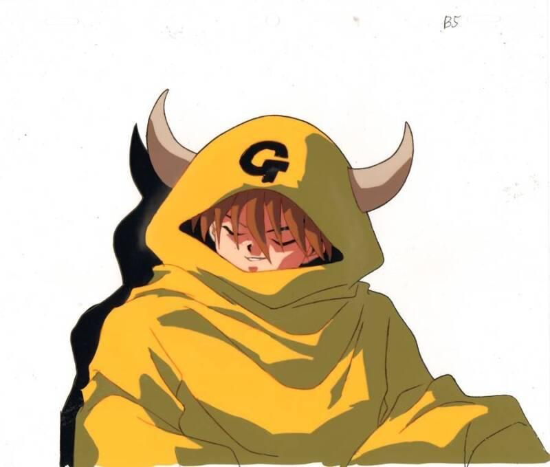 Anime Cel Yu Yu Hakusho #84