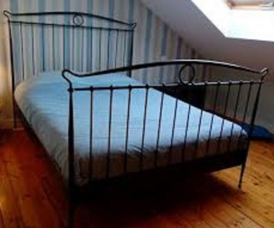 King Size Metal Bed Frame Ikea Tingvoll In Croydon
