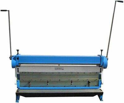 52 X 20 Gauge Sheet Metal Shear Finger Pan Box Brake Bender Slip Roll 3 In 1