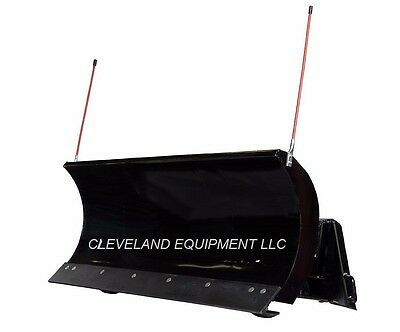 108 Premier Snow Plow Attachment Skid-steer Loader Blade Terex New Holland 9