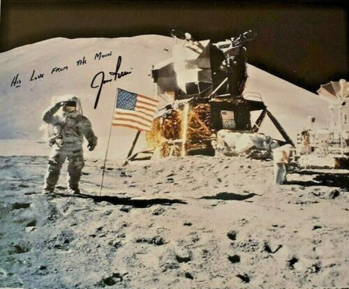 Jim Irwin Autographed Signed 8x10 Photo ( Apollo 15 ) REPRINT