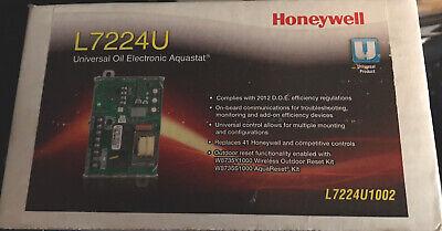 Honeywell L7224u1002 120 Volt Universal Oil Electronic Aquastat Nib