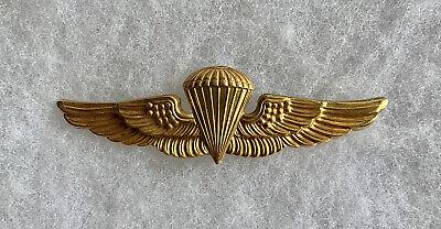 USMC Paratrooper Paramarine Jump Wings Gold Filled 1/20 10K GF