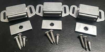 4pk Magnetic Cabinet Closet Drawer Door Latch. Strong Made Proudly In The Usa