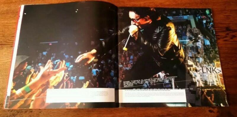 U2 2001 ELEVATION WORLD TOUR CONCERT PROGRAMME