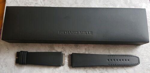 Richard Mille RM03 Uhrenarmband Leder Schwarz