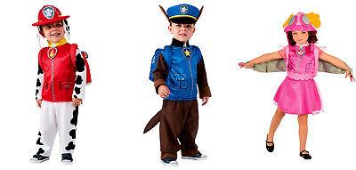 Lizenzware Paw Patrol Skye Chase  Marshall Kinder Karneval Fasching Gr. 92-104