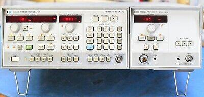 Hp Refurbished 8350b Sweep Generator 83592a 20 Ghz Microwave Rf Plug-in Opt 002
