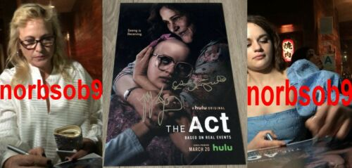 PATRICIA ARQUETTE & JOEY KING SIGNED AUTOGRAPH THE ACT 12x18 PHOTO w/EXACT PROOF