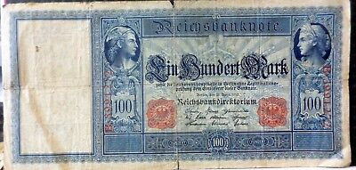 Germany 1910 100 Mark Circulated