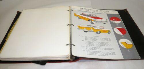 VINTAGE 1942-61 COCA-COLA STANDARDIZATION BULLETIN BOOK