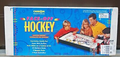 CARROM FACE OFF AIR HOCKEY TABLE TOP GAME MODEL 244 CARROM AIR HOCKEY NEW IN BOX