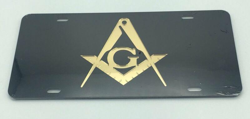 Mason - Black Mirror License Plate