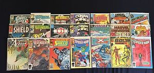Collection of 21 1980s Vintage  DC&Marvel Comics.
