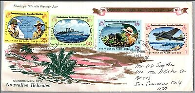 GP GOLDPATH: NEW HEBRIDES COVER 1967 FIRST DAY COVER _CV674_P14