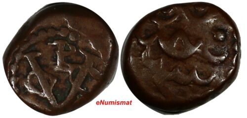 Dutch East India Company Copper (1615-1646) Cash Pulicat Mint 1,69 g. KM# 34/404