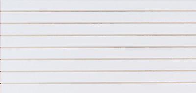 2 Slatwall Easy Panels 4 X 2 Horizontal White Fiberboard Panel
