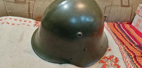 vintage Bulgarian military helmet ww2
