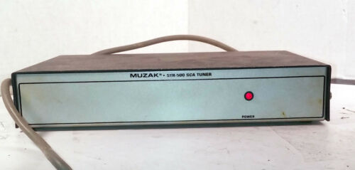 1 USED MUZAK STR-500 SCA TUNER !!FREE CD!! ***MAKE OFFER***