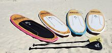 Stand up paddle (SUP) boards with full carbon fibre paddle Melbourne CBD Melbourne City Preview