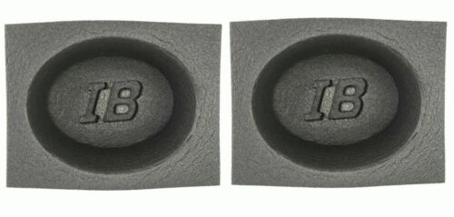 "6""x9"" Foam Speaker Baffles Universal for 6x9"" Car Audio 4"" Deep IBBAF69"