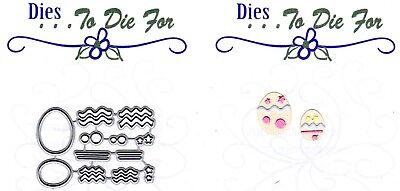 Dies...to die for metal cutting craft die Build - Basket - Small Egg Easter (Easter Basket Craft)