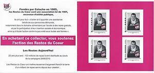 Bloc collector Les enfoirés Colluche Neuf** - France - Type: Timbres Qualité: TTBE Année d'émission: 2001 et aprs - France