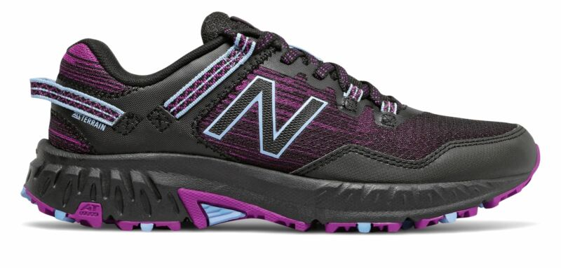 New Balance 410v6 Womens Shoes Black with Plum