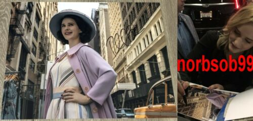 RACHEL BROSNAHAN SIGNED THE MARVELOUS MRS. MAISEL 11x14 PHOTO A w/EXACT PROOF
