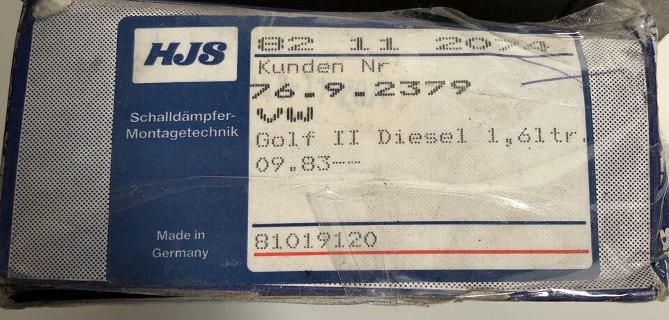 Auspuffschelle, Gleitring, Haltering, NEU, Set für VW Golf 2 in München - Aubing