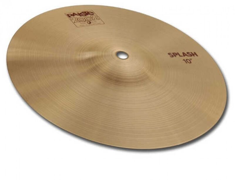 PAiSTE 1062208 Splash Cymbal 8 Inch 2002-8 Splash From Japan with Tracking