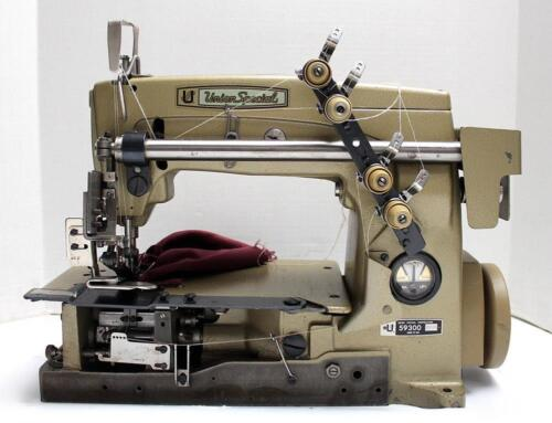 UNION SPECIAL 59300 Chainstitch 2-Needle Ruffler Industrial Sewing Machine Head