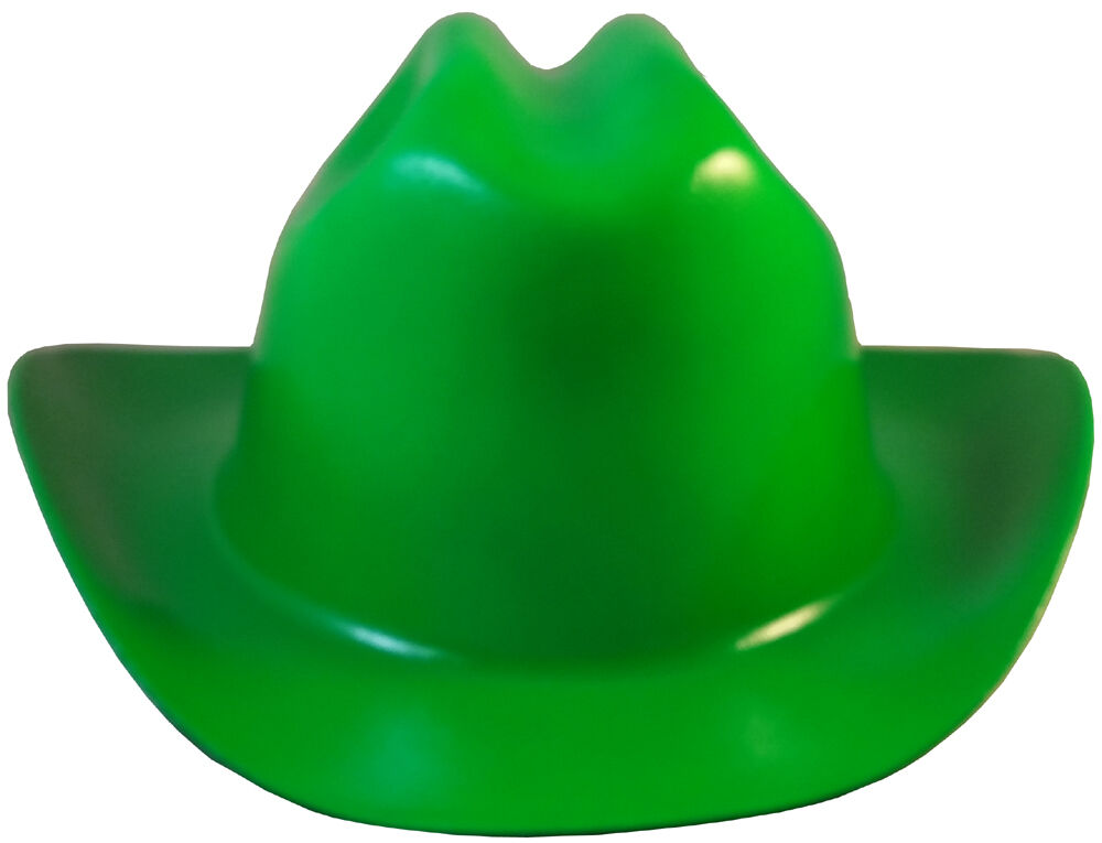 Outlaw Cowboy Style Safety Hard Hat Quot Green Quot Ratchet Susp