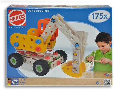 HEROS Constructor - Bagger - 175 teilig