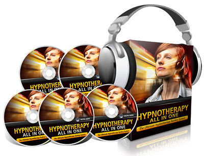 Hypnotherapy All In One --35 Audio MP3's on 1 CD + Hypnotic NLP