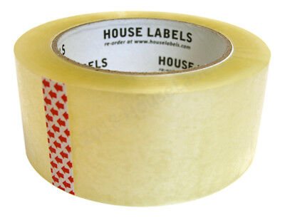 12 Rolls of Clear Packing Shipping Tape Strong 2