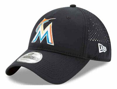 New Era Miami Marlins Baseball Cap Hat MLB PERF PIVOT 2 8047