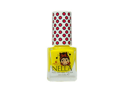 Miss Nella Non Toxic, Peel Off Sun Kissed Children Nail Polish Best Kids