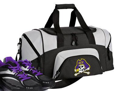 SMALL East Carolina University Gym Bag ECU Duffel GIFT IDEA for HIM or HER Men