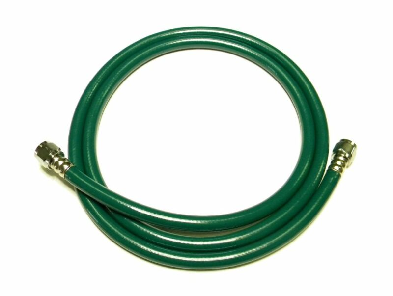 CARETECH GREEN MEDICAL OXYGEN O2 HOSE 10FT W/DISS FITTINGS VENTILATOR SHIPS FAST