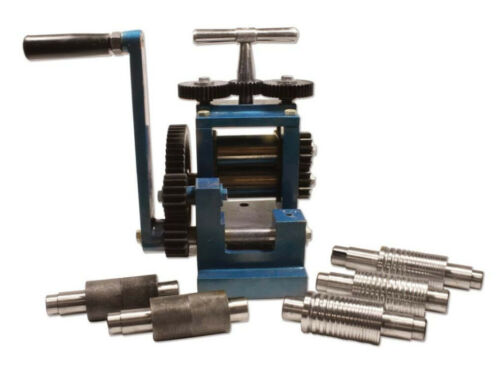 Rolling Mill For Metal Sheet And Wire With 7 Flat And Pattern Rollers