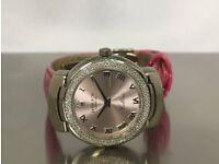 Ladies Pink Rolex Cellini Cellissima 6671 18k White & Gold 2006 Watch Pristine Condition £5000