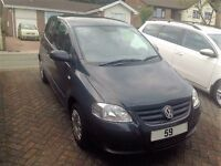 Volkswagen Fox 1.4 3dr - 59 Plate - 37k miles - FSH - Petrol - Manual - Grey - Fantastic Condition