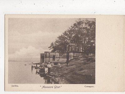 Massacre Ghat Cawnpore India Vintage U/B Postcard 854a