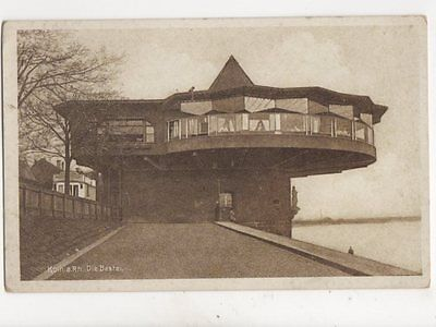Koeln Am Rhein Die Bastei Germany Vintage Postcard 151b