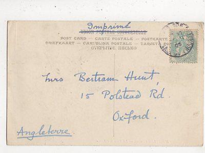 Mrs Bertram Hunt Polstead Road Oxford 1905  764a